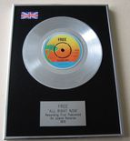 FREE - ALL RIGHT NOW PLATINUM Single Presentation Disc
